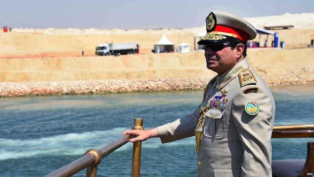 PresidentSisi opens the Suez expansion 20150806
