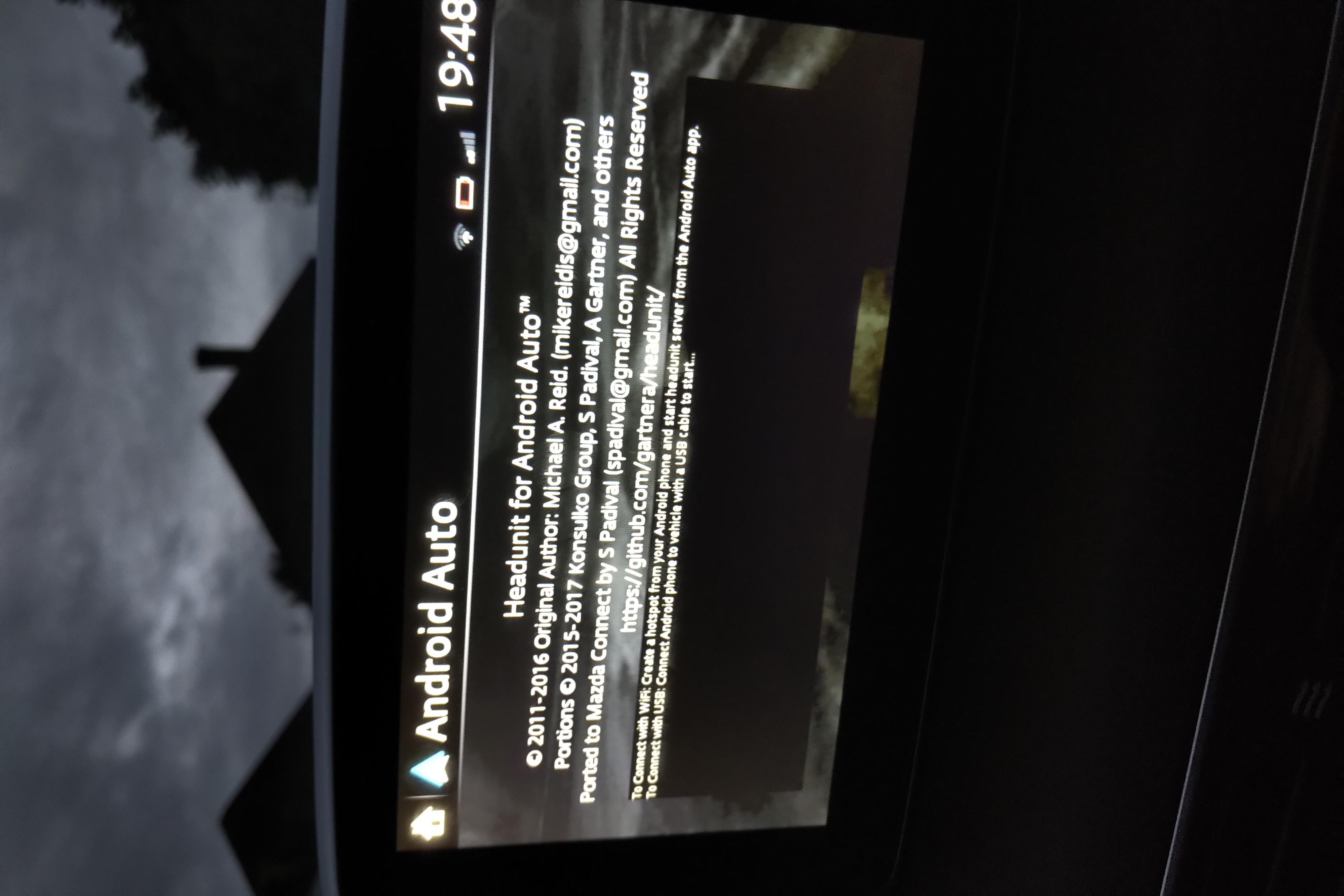 Mazda Connect – Android Auto – Jinba Ittai